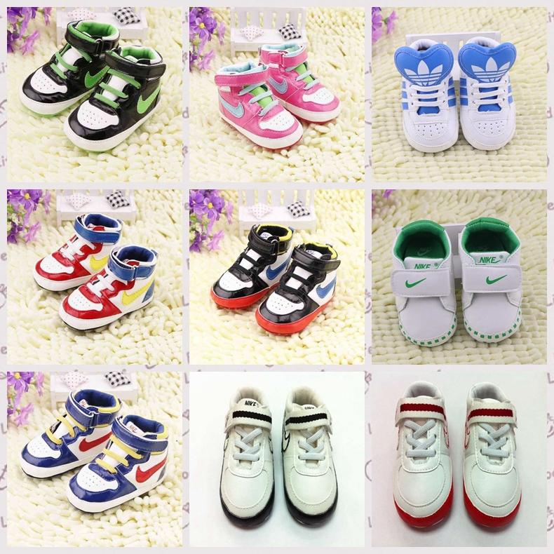 Chaussures de bébé pour les filles/garçons bebe sapatos premier bébé marcheurs enfant chaussures de sport semelle souple chaussures prewalker r7041