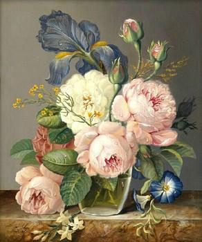 По числу сделай сам цифровая живопись декоративная живопись цветок 40 x 50 см