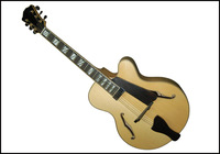 Christmas Sales 16 Inch F Hole Fully handmade solid wood jazz guitar