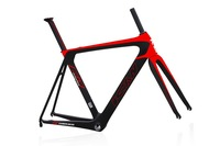 2015 Carbon road bike frame set,AERO road frame with perfect painting design,BB86&DI2