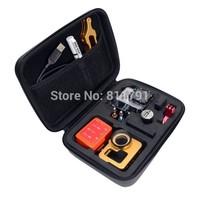 New Arrive WaterProof  Shockproof Portable Bag Case For SJ4000 Go Pro gopro Camera Hero 1 2 3 3 + Black Edition 22x17x7cm
