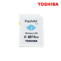Hottest Toshiba Flash Air SDHC-10 Wifi 16GB Memory Card Class 10 Wireless with Password Flash Card SD Card for PC DV Carema