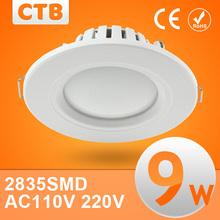 downlights led 5w 7w 9w 12w 110v 220v 15w led downlight techo 2835 lámparas led lámpara de techo casa de iluminación interior envío gratis(China (Mainland))