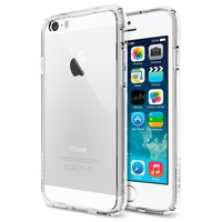 Original Ultra Hybrid For iPhone 6 Spigen SGP Crystal Clear Back Panel Air Cushioned Corners & TPU Phone Cases