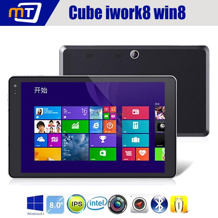 Original cube iwork8 u80gt intel z3735e baytrail- t Quad-Core 1,8 GHz windows 8.1 tablet pc dual-kameras bluetooth gps