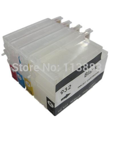 932 933 932XL 933xl Refillable ink Cartridge for HP Officejet Pro 6100e H611a 6600e H711a H711g