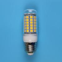 E27 69LEDS 5050SMD 17W LED Corn Bulb 220V - 250V  Warm white cold white LED Lights