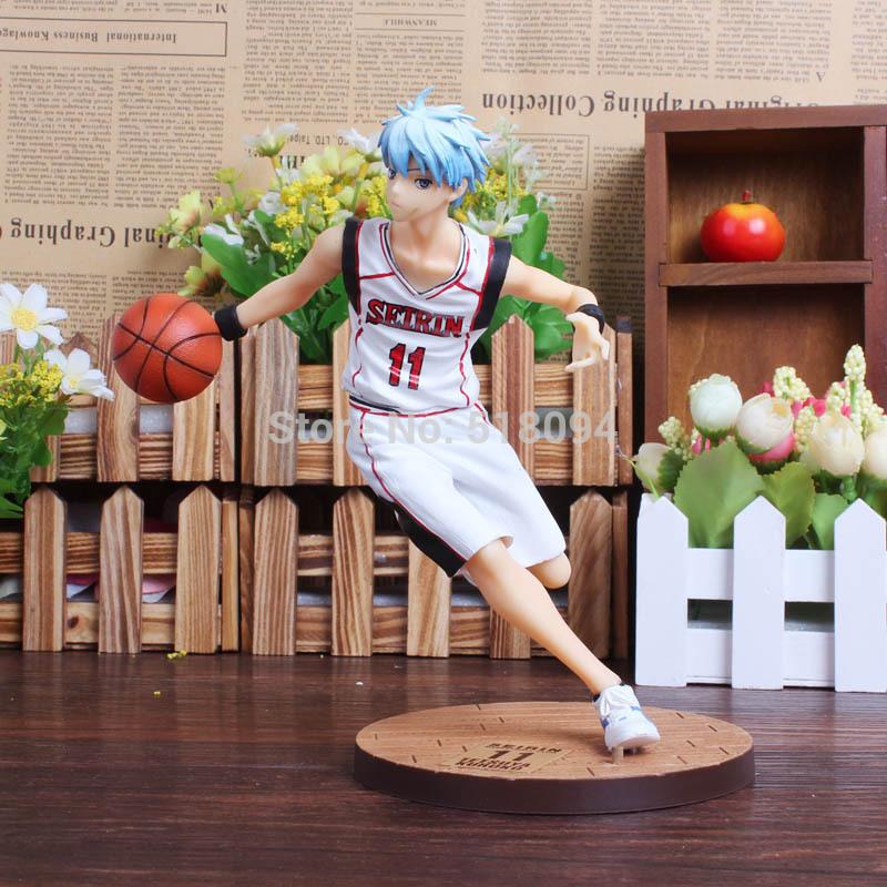 Anime kuroko die basketball kuroko tetsuya pvc action figur sammler