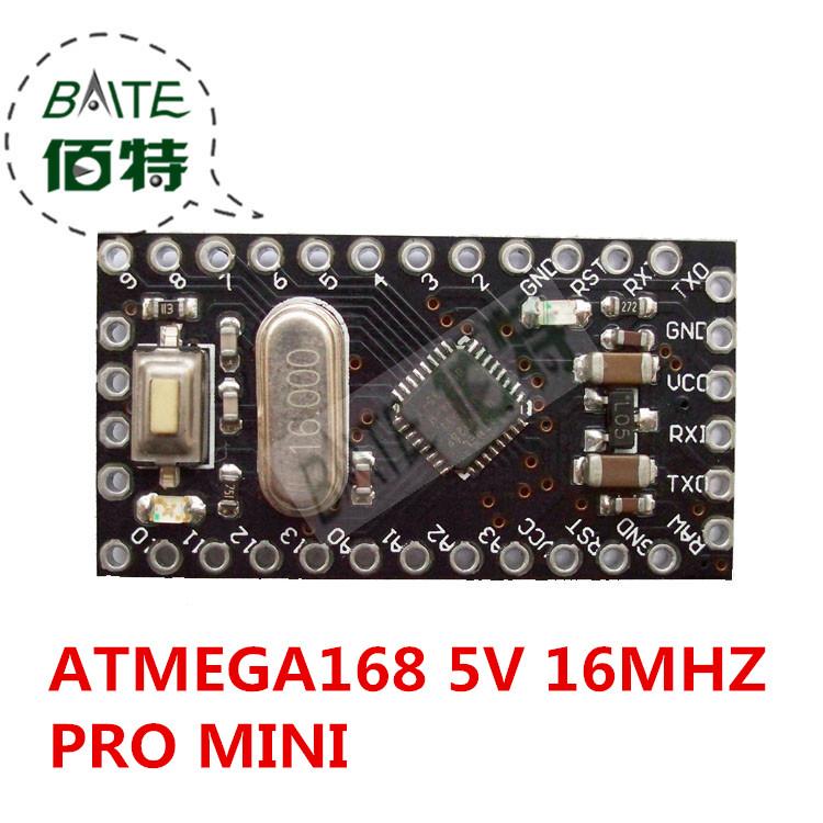 Pro Mini Module Atmega168 5V 16M For Arduino Compatible With Nano(China (Mainland))