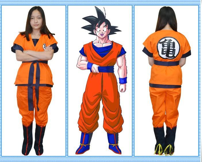 Dragon Ball z Halloween Costumes For Adults Dragon Ball z Goku Costume