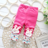 new style FashionSolid color Baby Girl Long Pants Girl kitten Leggings Toddler Spring Autumn Trousers 1pc Free shippingDDK-1501