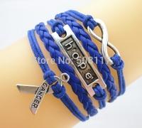 DHL Free shipping to USA 120pcs/lot Vintage leather wrap bracelets women bracelets bangles men bracelet
