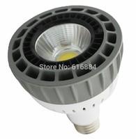 High Power 30W LED PAR30 E27,COB LED Spotlight Instead of 70W Metal Halide Lamp
