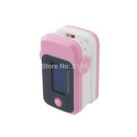 Health Care Blood Oxygen SpO2 Saturation Monitor Fingertip Pulse Oximeter Pink
