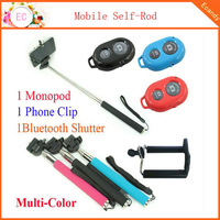 3 in 1 Selfie Rotary Extendable Handheld Camera Tripod Phone Monopod+ Wireless Bluetooth Remote Control For Smarthone ca000068l