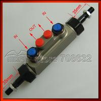 Piston Dia: 0.7 inch Double Pump Tandem Master Cylinder for Handbrake