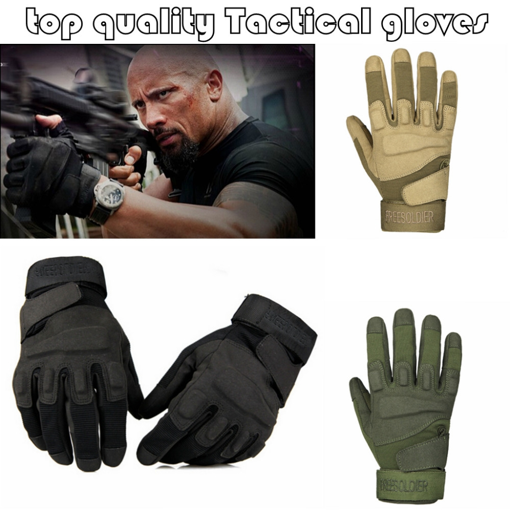 2015 new Outdoor Sports Camping Military Tactical gloves Swat Hunting Motorcycle Racing Riding Cycling Gloves Armed Mittens(China (Mainland))