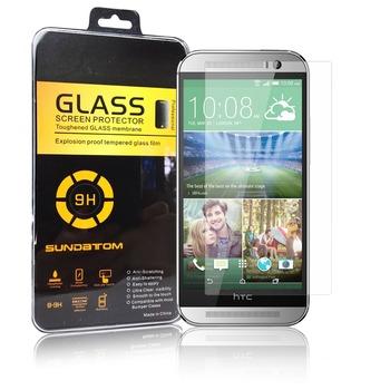 Высокое качество 2.5D закаленное стекло протектор для HTC One M8 с розничная упаковка ...