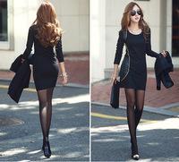 Free shipping new 2014  Korean package hip temperament dress  hot sale M-XL XGJ002