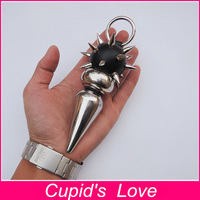 13.4cm*4.4cm Metal Anal Plug Stainless Steel Cactus Big Butt Plug Sex Toys For Women Adult Product