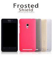 Nillkin Case for Asus Zenfone 4 (4.5 inch) A450CG 5 Colors Case Super Plastic Matte Cover + Screen Protective Film
