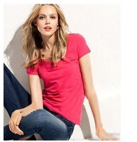 Women's Summer modal short T-shirt round-U-neck short -sleeved T-Shirt