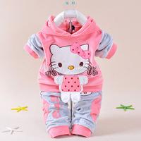 Hello Kitty baby girls suit (jacket + pants) Children's suit Children's outfit. Children's clothes,girls set,children's clothing