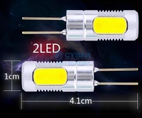 High Power 12V G4 LED Bulb COB 2LED 600Lm 3W LED Spot Light Lamp Bulb 19599