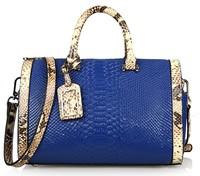 2014 Bostons winter new leather handbag embossed leather retro fashion Mobile Messenger bag ladies large 0497