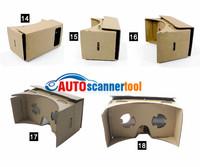 2014 New Arrival Google Cardboard DIY 1:1 Virtual Reality Mobile Phone Glasses 3D Glasses +NFC Tag