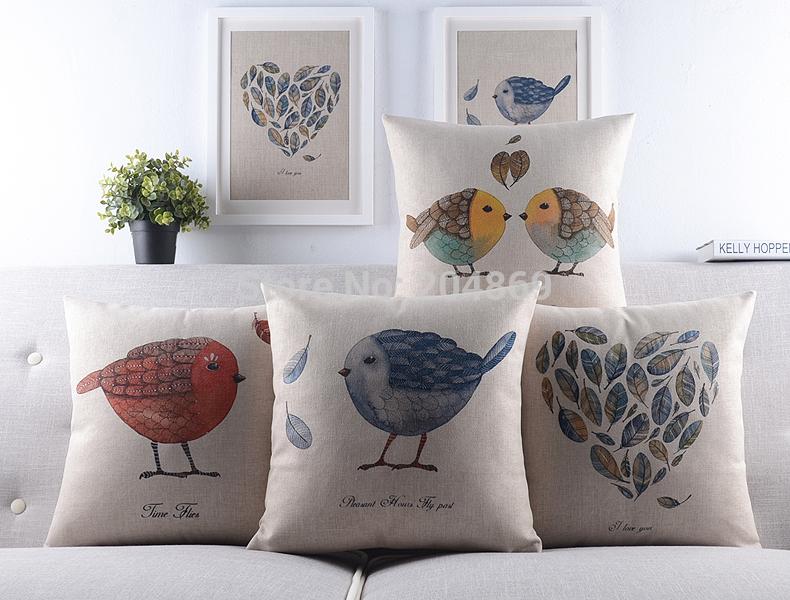 home decor sofa throw pillow cover good quality cotton linen soft touch car seats cushion bedding wedding decor pillow case(China (Mainland))