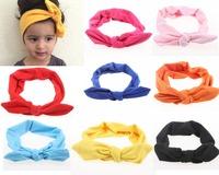 Free shipping , 12pcs/lot Baby Organic Top-Knot Headband, Baby Knotted Headband