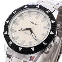 SINOBI Brand Stainless Steel Strap Analog Quartz Watches Classic business Casual men's watch