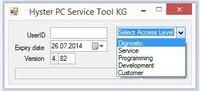 2014 newest Hyster Yale PC Service Tool v4.xx keygen,support 4.8v up+software v4.84-unlock