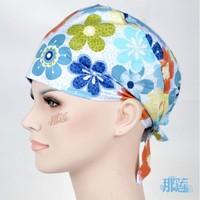 printed cotton surgical caps chemotherapy nurse doctor cap cap hat pet hospital ICU room cap