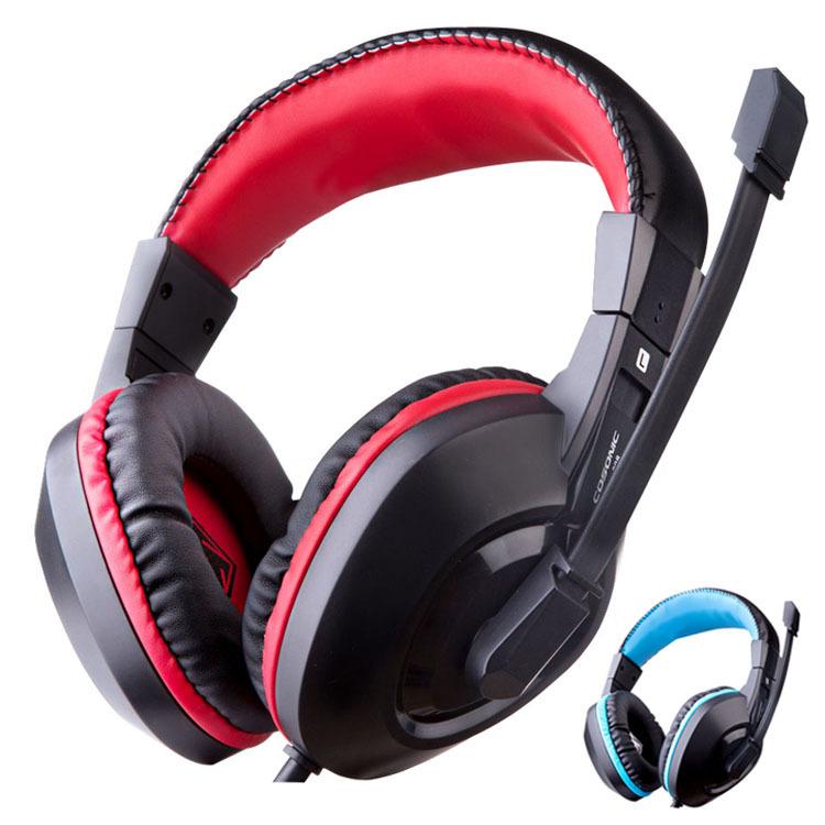 High Quality Earphones & Headphones Gaming Headset Headphone Microphone Gamer Studio Bass Noise Isolating Brand dj 3.5mm 908(China (Mainland))
