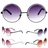 Elegant New Fashion style Big Round Frame Sunglasses Vintage For Women   Sunglasses Women Brand Designer
