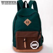 Hot sale 2014 new women backpack printing backpack school backpacks canvas backpack 002(China (Mainland))