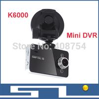 "K6000 Car Mini DVR HD 720*480P IR night vision  Camera, 2.7""  TFT Color LCD Car DVR Camera Recorder, Russian Car DVR"