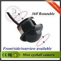 21mm 360deg eyeball car camera with Adjustable Angle