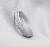925 Sterling Silver Ring for Women New Fashion Wedding Band Korean Star Charm White Cheap Jewelry Anel de Zircon Size 4.5-8 J034