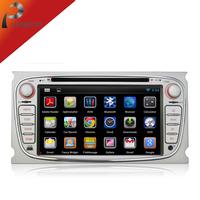 Pure Android 4.2 Car Radio Stereo Audio  DVD Player For Ford Focus GPS Navi Navigation Car Pc Head Unit Autoradio+Free Camera