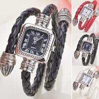 Whole Sale Vintage Dress Wristwatches Women Bracelet Ladies Quartz Watch Fashion Clock Designer Leather Wrist New B18 SV007656