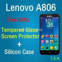 "11.11! Original Lenovo A806 4G FDD LTE/WCDMA SmartPhone Octa core 1.7G 5.0""HD IPS 2G RAM 16GB ROM 13.0M Amazing H Tempered Glass"