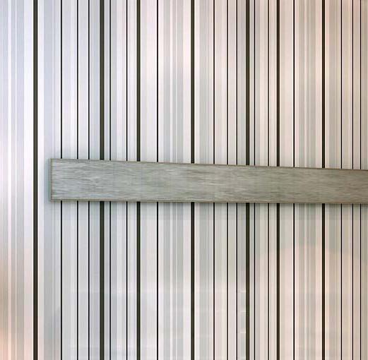 Cinza clássico rolo de papel de parede listrado preto e ~ Quarto Preto E Branco Listrado