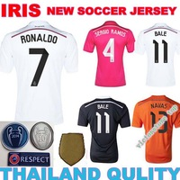 14 15 Real madrid champions jersey 2015 CLUB WORLD CUP real madrid Champions jersey kroos james prink DRAGON goalkeeper  jersey
