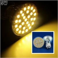10 Pcs/lot Free Shipping GU10 LED 5W Warm White 29pcs 5050 SMD LED Spot Light Lamp Bulb AC220V LED0251
