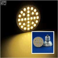 10 Pcs/lot Free Shipping E27 LED 5W Warm White 29pcs 5050 SMD LED Spot Light Lamp Bulb AC220V LED0261
