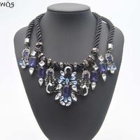 2014 Fashion High Quality Gorgeous Design Statement Necklaces & Pendants Chain Accessories Colar Women Vintage Collar Jewelry