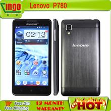 Original Lenovo P780 phone5.0 inch Android4.2 280x720 MTK6589 QuadCore 1.2GHz 1GB RAM 4GB ROM 8.0MP 4000mAh battery GPS(China (Mainland))